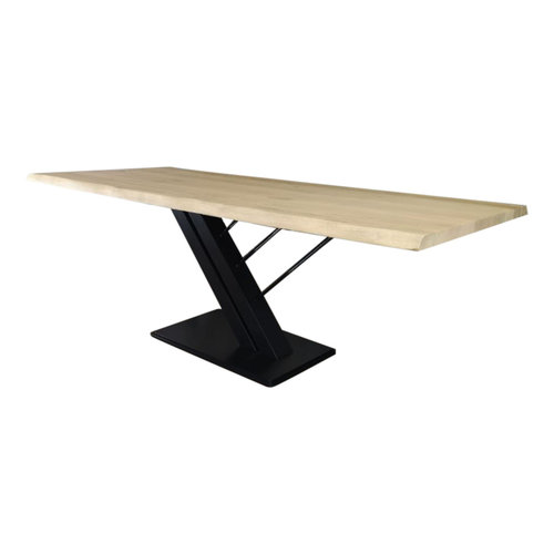 Industriële tafel met Harp tafelpoot