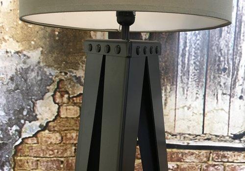 Stalen driepoot lampvoet