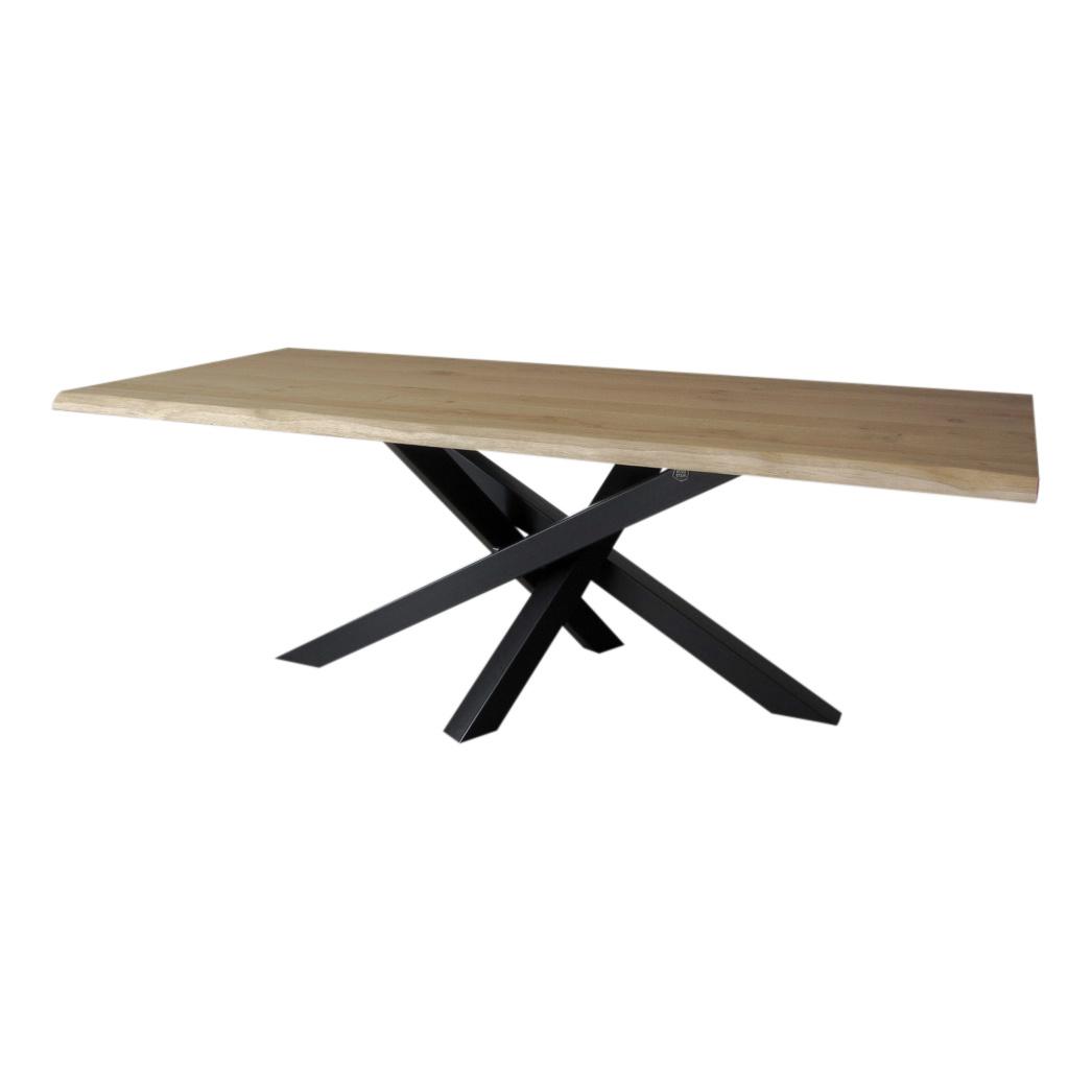 industriele tafels stalen Twist middenpoot