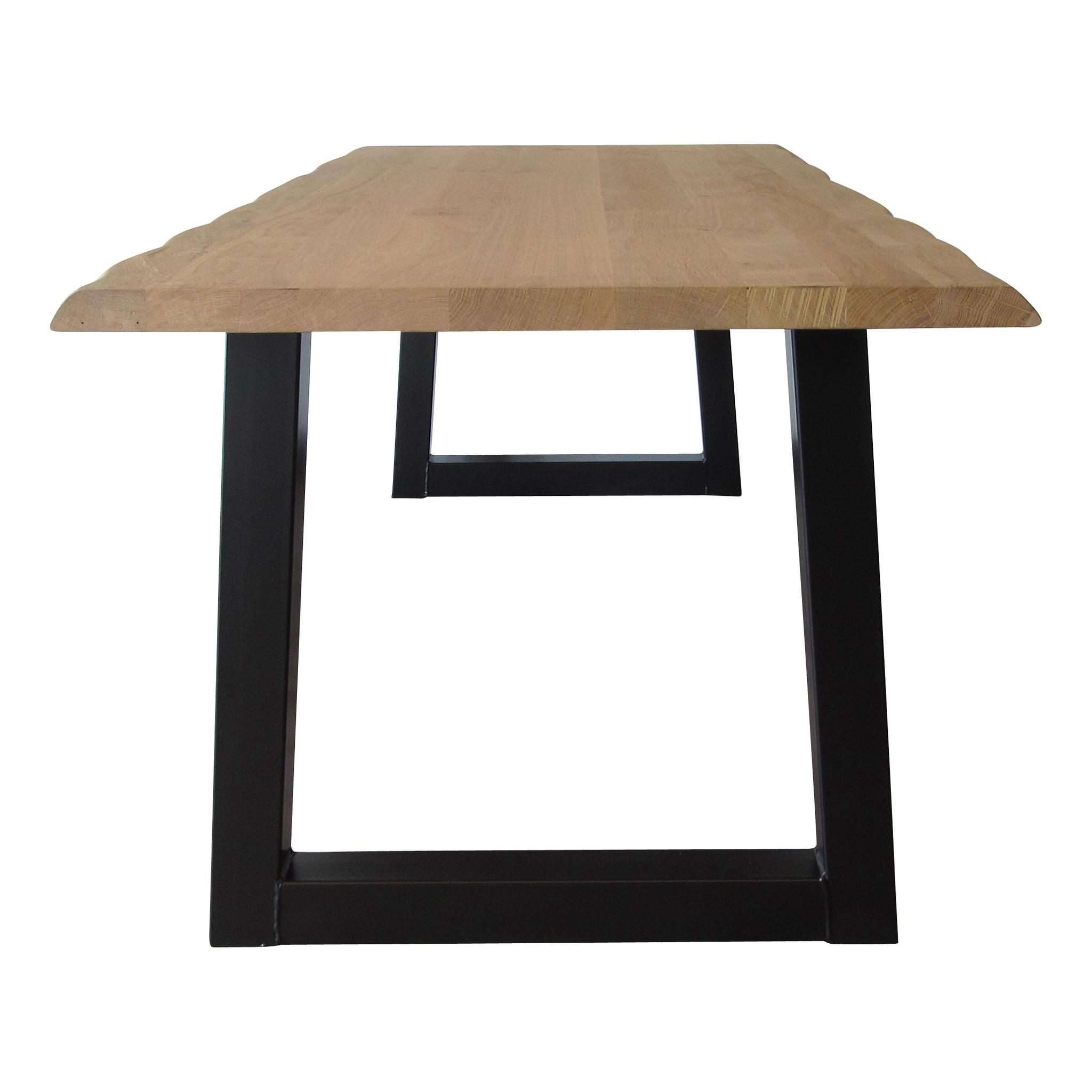 industriele tafels stalen Trapezium tafelpoten