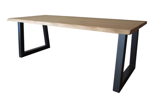 Industriële tafel met standaard trapeze tafelpoten