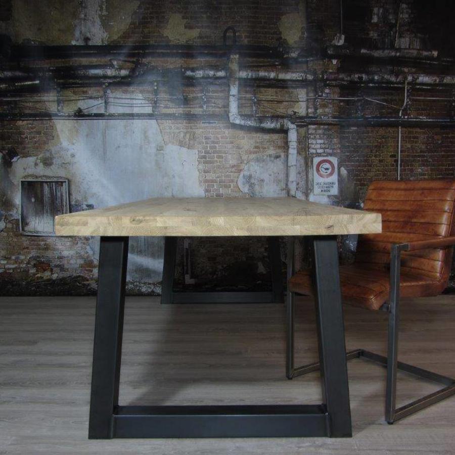 Handgemaakt Industrieel tafelonderstel Trapezium poot Standaard