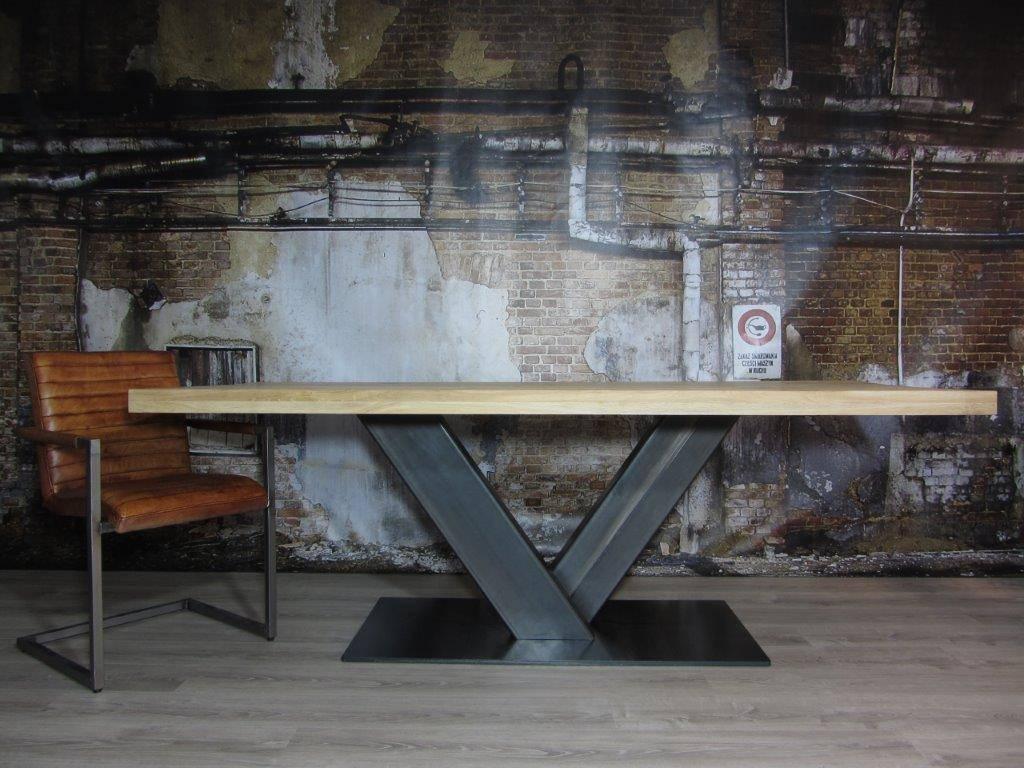 Industrieel tafelonderstel v poot industriele tafels