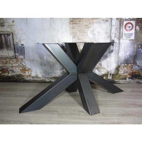 Tafelonderstel Matrix12x12 tafelpoot Zwaar Transparant