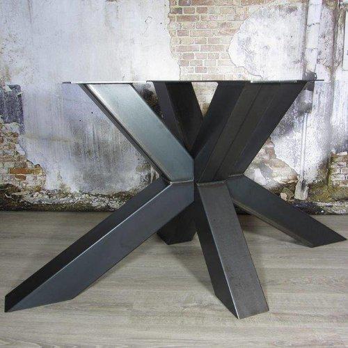 Zware industriële tafelpoten transparante coating