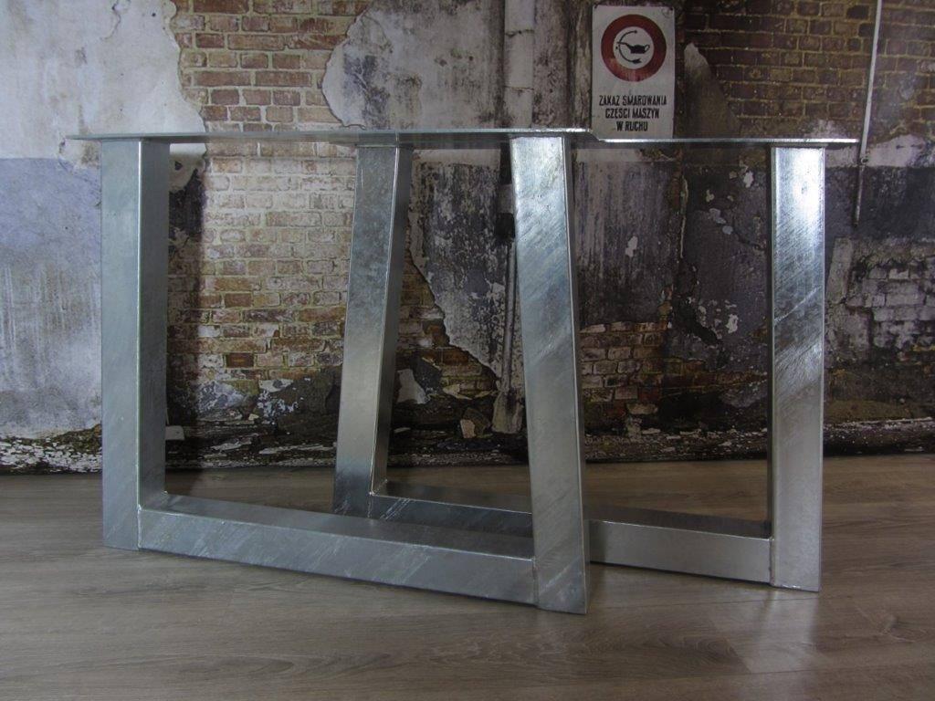 Industrieel Tafel Onderstel : Industriele tafelpoten model u trapeze industriele tafels