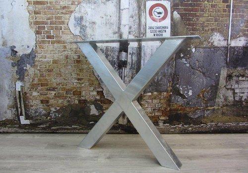 Tafelonderstel X kruispoot Standaard - VERZINKT