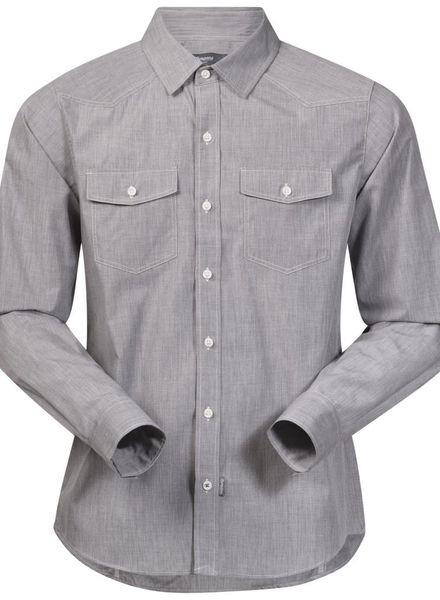 Bergans BERGANS Justøy Shirt LS Mens - Solid Grey