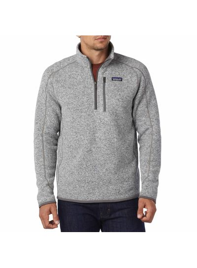 Patagonia  Patagonia Mens Better Sweater Fleece 1/4 Zipp - Nickel