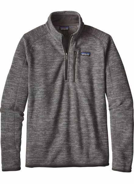 Patagonia  Patagonia Mens Better Sweater Fleece 1/4 Zipp - Nickel