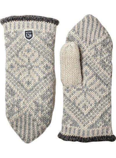 Hestra  HESTRA Nordic Wool Mitt Fausthandschuh - Grey