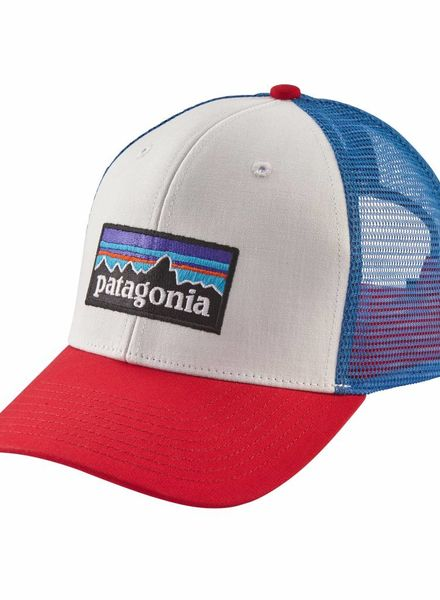 Patagonia  Patagonia P-6 Trucker Hat - White Fire Blue