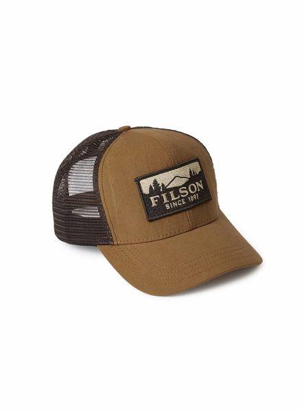 FILSON  Filson Logger Mesh Cap - Dark Tan