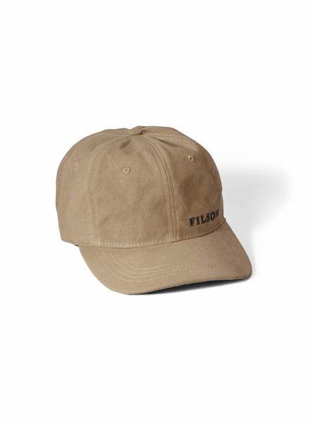 FILSON  Filson Wax Logger Cap - Dark Tan