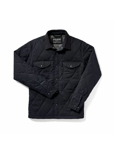 FILSON  FILSON Hyder Quilted Jac - Shirt -  Navy