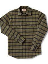 FILSON  FILSON  Alaskan Guide Shirt - Otter Green -Black Plaid