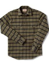 FILSON  FILSON  Alaskan Guide Shirt - Otter Green -Black Plaid