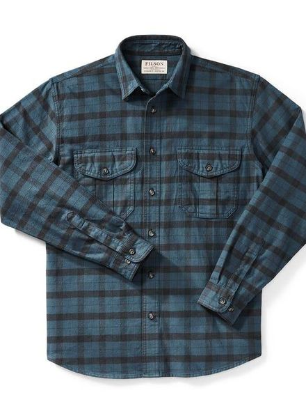 FILSON  FILSON  Alaskan Guide Shirt - Midnight -Black Plaid