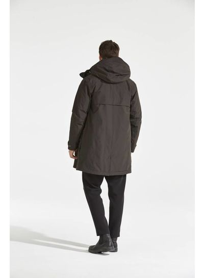 DIDRIKSONS 1913  Didriksons Ture Men's Coat - Chocolate Brown