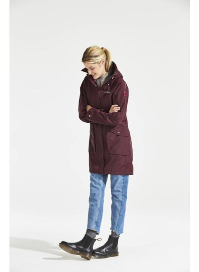 DIDRIKSONS 1913  Didriksons Womens Thelma Coat - Wine Red