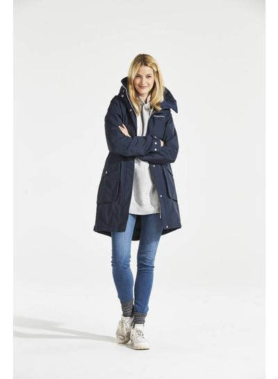 DIDRIKSONS 1913  Didriksons Womens Thelma Coat - Navy