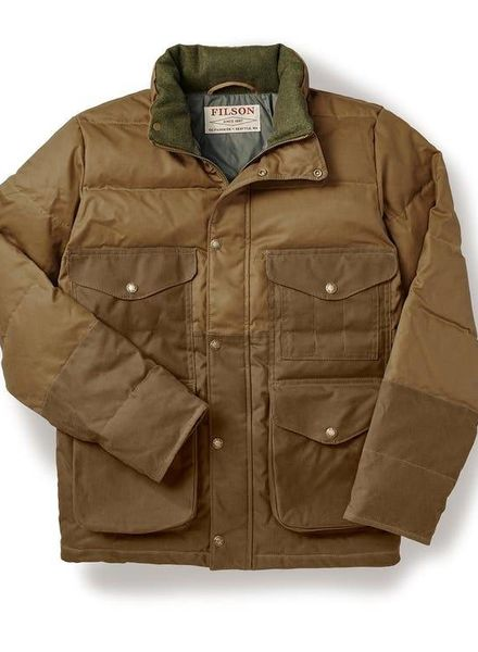 FILSON  FILSON Down Cruiser Jacket - Dark Tan