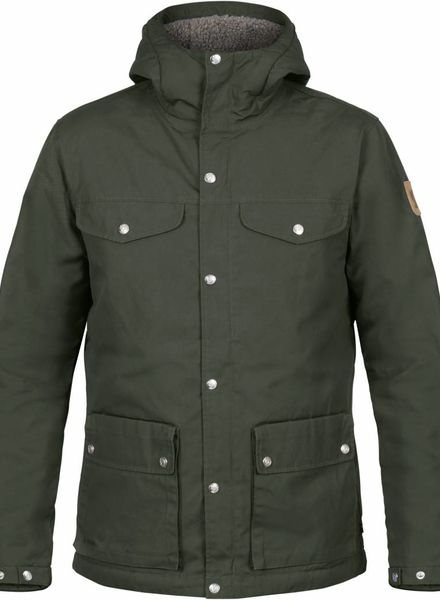 Fjällräven  FJÄLLRÄVEN Mens Greenland Winter Jacket - Deep Forest