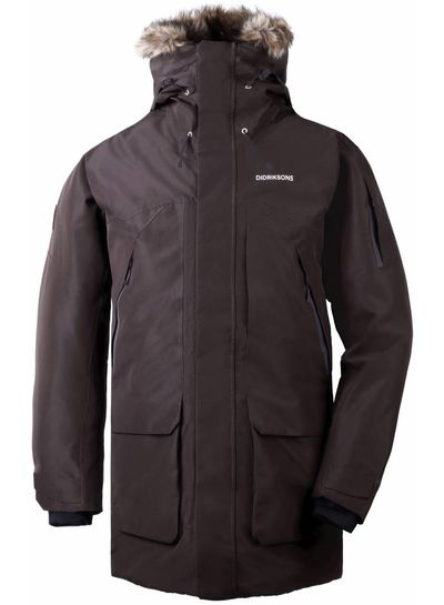 DIDRIKSONS 1913  Didriksons Marcel Men's Parka - Chocolate Brown