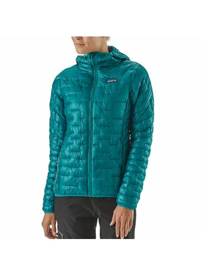 Patagonia  Patagonia Womens Micro Puff Hoody - Feather Grey
