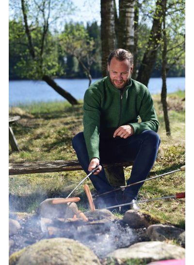 Ivanhoe Ivanhoe of Sweden Danny Full Zip - Rifle Green