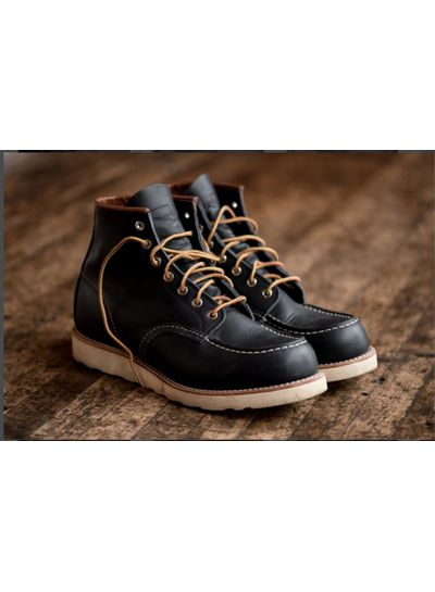 Red Wing Shoes  RED WING SHOES Moc Toe 8859 - Navy