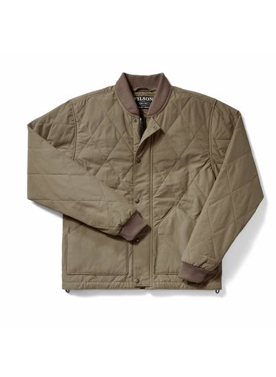 FILSON  FILSON  Quilted Pack Jacket  -  Tan