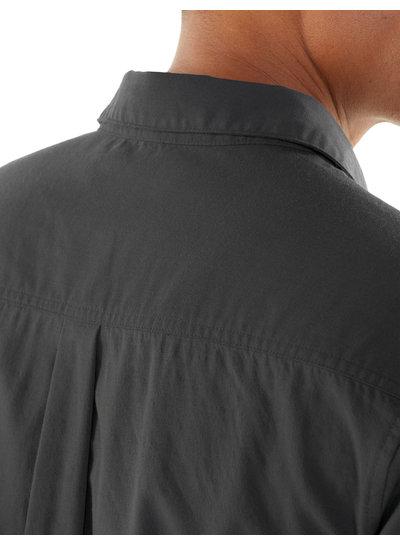 Icebreaker  ICEBREAKER Mens Compass Short Sleeve Shirt - Monsoon
