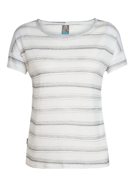 Icebreaker  ICEBREAKER Damen Cool-Lite Via Short Sleeve Scoop - Enamel