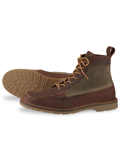 Red Wing Shoes  RED WING SHOES Weekender Canvas Moc 3335 - Braun
