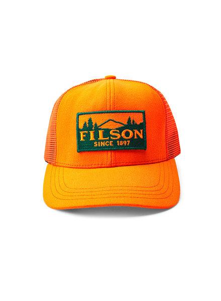 FILSON  Filson Logger Mesh Cap - Orange