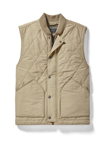 FILSON  FILSON  Quilted Pack Vest -  Khaki