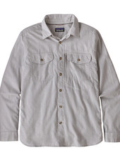 Patagonia  Patagonia Mens Long Sleeved Cayo Largo Shirt - Feather Grey