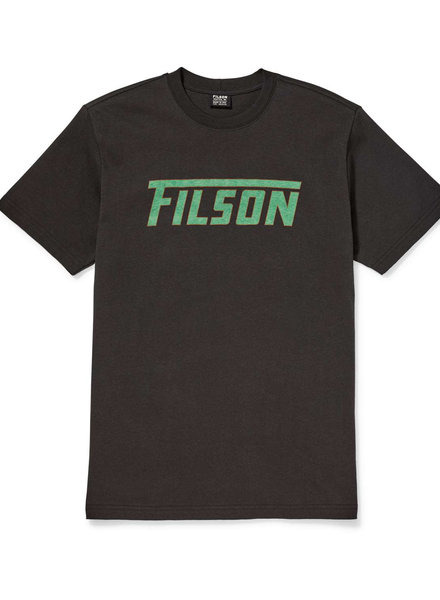 FILSON  FILSON Outfitter SS Graphic T- Shirt - Faded Black