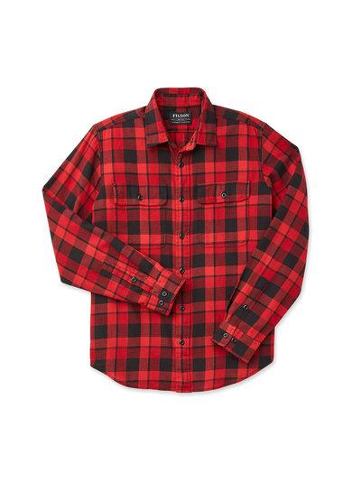 FILSON  FILSON Scout Shirt -  Scarlet