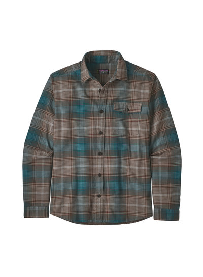 Patagonia  Patagonia Mens Light Weight Fjord Flannel Shirt - Bristle Brown