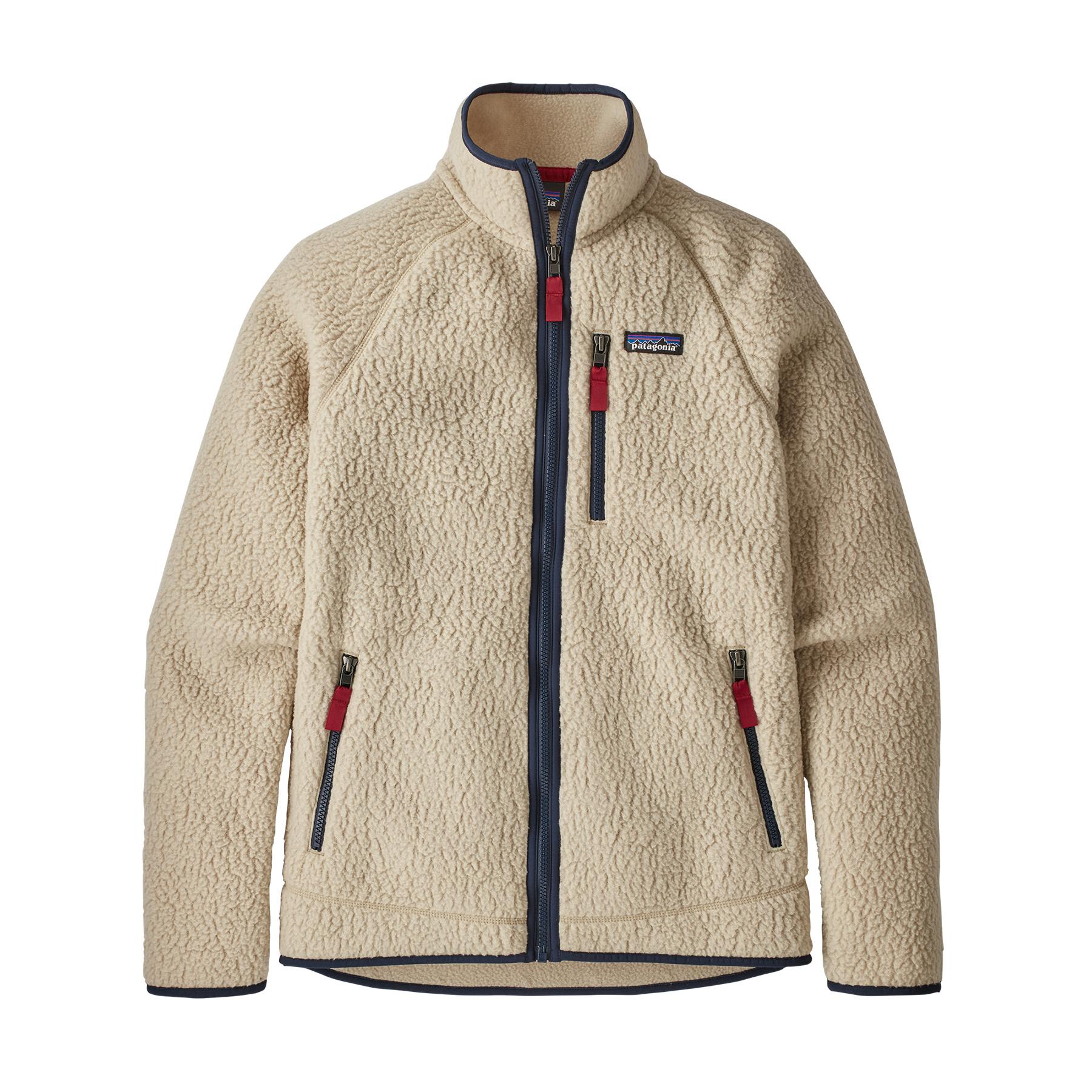 Patagonia Mens Retro Pile Fleece Jacket Khaki