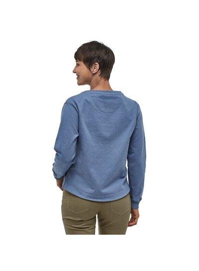 Patagonia  Patagonia W's Live Simply Lounger Uprisal Crew Sweatshirt - Blue
