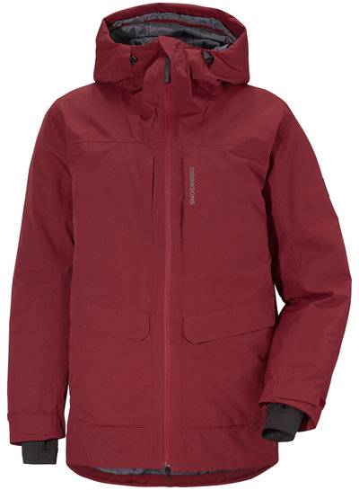 DIDRIKSONS 1913  Didriksons Dale Men's Jacket - Element Red