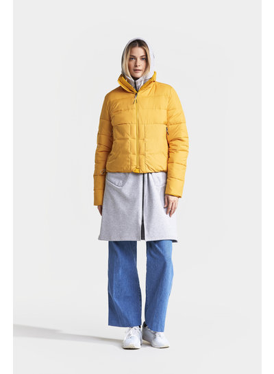 DIDRIKSONS 1913  Didriksons Kim Womens Jacket - Oat Yellow