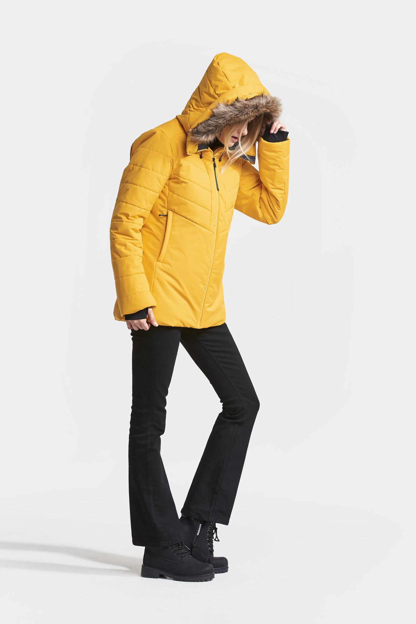 DIDRIKSONS Damen Winterjacke Nana Oat Yellow