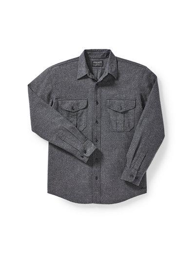 FILSON  FILSON  Alaskan Guide Shirt - Grey Heather