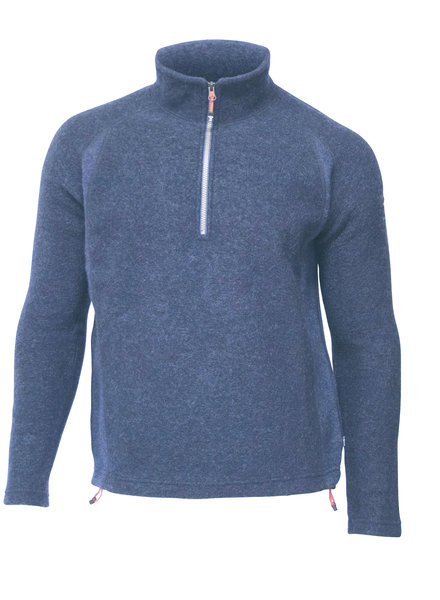 Ivanhoe Ivanhoe of Sweden Kaj Half Zip - Light Navy