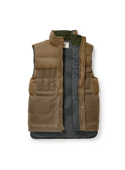FILSON  FILSON  Down Cruiser Vest - Dark Tan