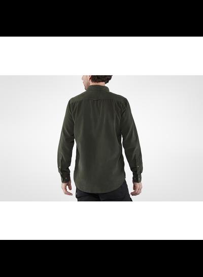 Fjällräven  FJÄLLRÄVEN Mens Övik Cord Shirt - Dark Navy